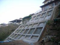 平成20年 下関市長府珠の浦町 珠の浦(2)地区 自然災害防止急傾斜工事 第1工区